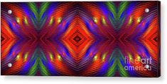 Acrylic Print featuring the digital art Andee Design Abstract 3 2015 by Andee Design