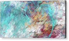 Acrylic Print featuring the digital art Andee Design Abstract 4 2015 by Andee Design