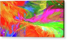 Acrylic Print featuring the digital art Andee Design Abstract 5 2015 by Andee Design