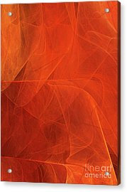 Acrylic Print featuring the digital art Andee Design Abstract 54 2017 by Andee Design