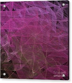 Acrylic Print featuring the digital art Andee Design Abstract 67 2017 by Andee Design