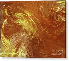 Acrylic Print featuring the digital art Andee Design Abstract 68 2017 by Andee Design
