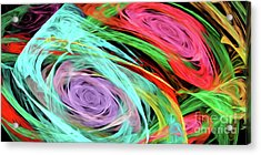 Acrylic Print featuring the digital art Andee Design Abstract 7 2015 by Andee Design