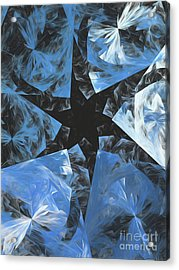Acrylic Print featuring the digital art Andee Design Abstract 71 2017 by Andee Design