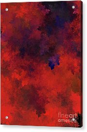 Acrylic Print featuring the digital art Andee Design Abstract 73 2017 by Andee Design