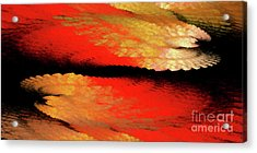 Acrylic Print featuring the digital art Andee Design Abstract 77 2017 by Andee Design