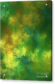 Acrylic Print featuring the digital art Andee Design Abstract 78 2017 by Andee Design