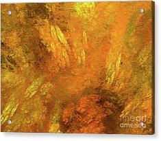 Acrylic Print featuring the digital art Andee Design Abstract 79 2017 by Andee Design