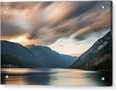 Acrylic Print featuring the photograph Anderson Lake Dreamscape by Pierre Leclerc Photography