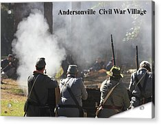 Andersonville Civil War Village Acrylic Print