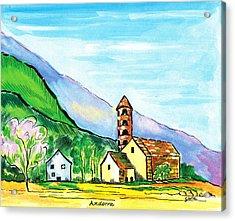 Andorra Acrylic Print