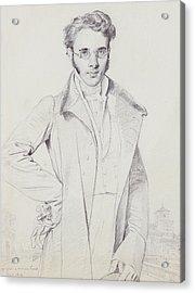 Andre-benoit Barreau, Dit Taurel Acrylic Print by Jean Auguste Dominique Ingres