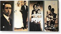 Andrea Bocelli Family Acrylic Print
