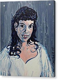 Andree Melly As Gina In The Brides Of Dracula  Acrylic Print