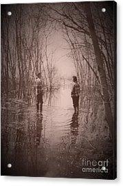 Andrew And Sarah Acrylic Print