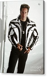 Acrylic Print featuring the photograph Andrew Dice Clay 1989 by Chris Walter