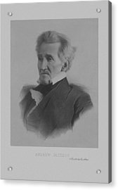 Andrew Jackson Acrylic Print by War Is Hell Store