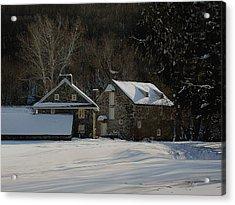 Andrew Wyeth Estate In Winter Acrylic Print