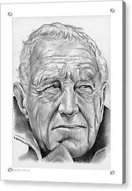 Andrew Wyeth Acrylic Print by Greg Joens
