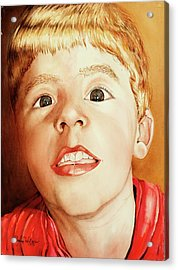 Andrew's Loose Tooth Acrylic Print
