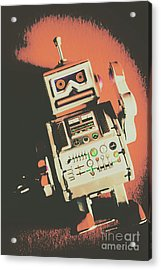 Android Short Circuit  Acrylic Print