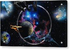 Andromeda Beckons Acrylic Print by David Jackson