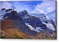 Mount Andromeda Acrylic Print by Heather Vopni