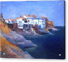 Andros Island Acrylic Print by George Siaba