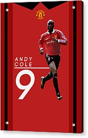 Andy Cole Acrylic Print
