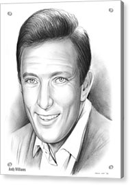 Andy Williams Acrylic Print