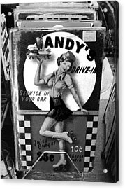 Andy's Drive-in II Acrylic Print by Joanne Coyle