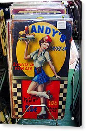Andy's Drive In Acrylic Print