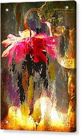 Anemone Monday Acrylic Print
