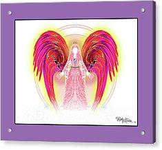 Angel #199 Acrylic Print