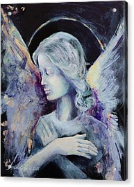Angel 3 Acrylic Print by Dorina Costras