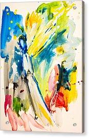 Angel Acrylic Print by Amara Dacer