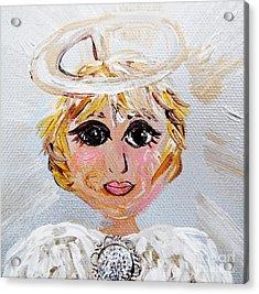 Angel Daniel Acrylic Print by Eloise Schneider
