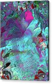 Angel Daphne Flowers #2 Acrylic Print