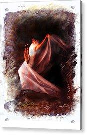 Ballet Angel Acrylic Print