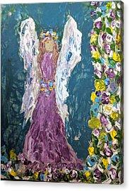 Angel Diva Acrylic Print