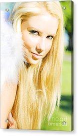 Angel Face Acrylic Print by Jorgo Photography - Wall Art Gallery