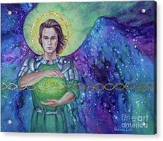 Angel Fire  Acrylic Print