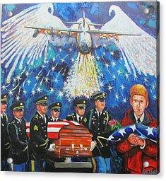 Angel Flight Acrylic Print