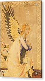 Angel Gabriel  Acrylic Print by Simone Martini