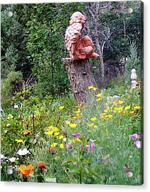 Acrylic Print featuring the photograph Angel Gardens by P Maure Bausch
