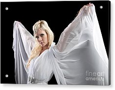 Angel Goddess Acrylic Print by Cindy Singleton
