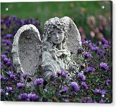 Angel Acrylic Print by Gwen Allen