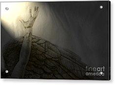 Angel Hand Acrylic Print