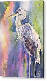 Angel Heron Acrylic Print