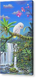 Angel In Paradise Acrylic Print